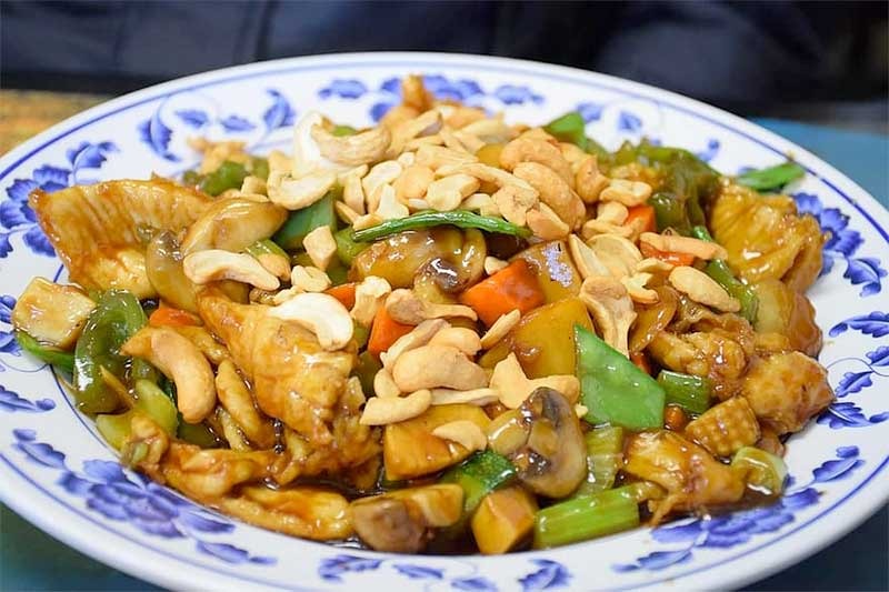 Chef Jose Mier Cashew Chicken