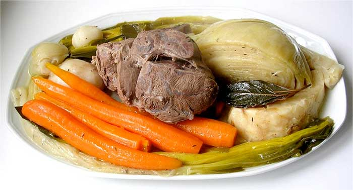 pot au feu a la Chef Jose Mier