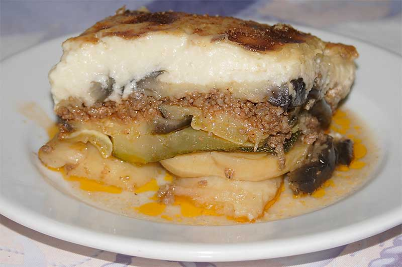 Moussaka photo on Jose Mier Gastronomy