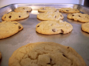 Chocoloate chip cookies from Chef Jose Mier's Sun Valley oven