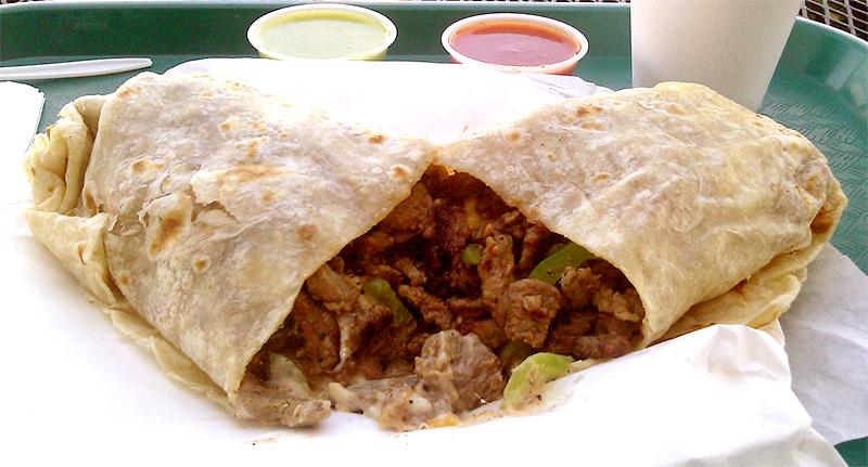 jose mier gastronomy burrito