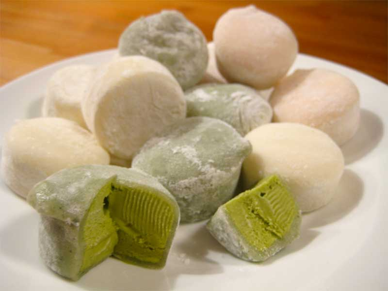 Jose Mier mochi ice cream balls