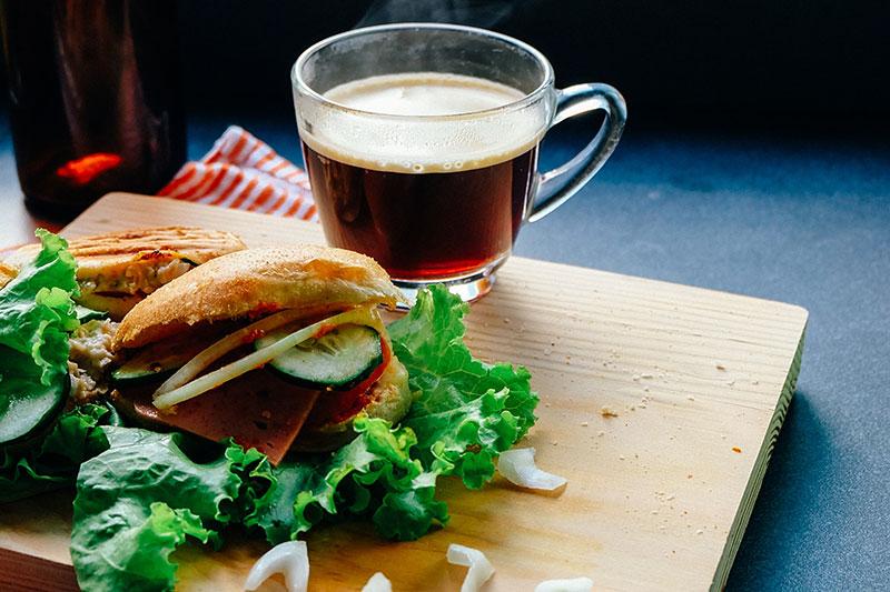 Jose Mier tea sandwich Los Angeles