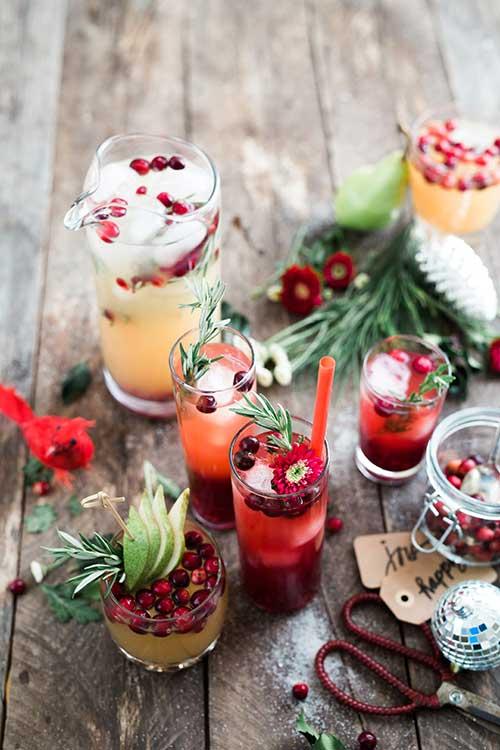 Jose Mier Christmas drinks Sun Valley, CA